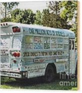 Kindness Bus 2 Wood Print