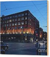 King And Spadina Wood Print