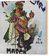 King Carnaval March - Mardi Gras Wood Print