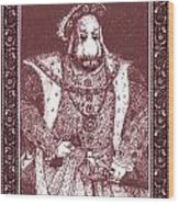 King Henry Hare Viii Wood Print