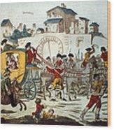 King Louis Xvi: Arrest Wood Print