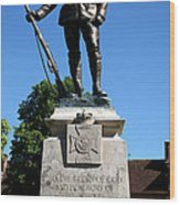 Kings Royal Rifle Corps Memorial In Winchester Wood Print