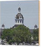 Kingston City Hall Wood Print
