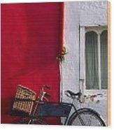 Kinsale, Co Cork, Ireland Bicycle Wood Print