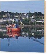 Kinsale Harbour, Co Cork, Ireland Wood Print