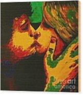 Kiss Me Before Is Too Late Wood Print