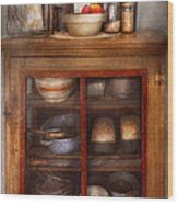 Kitchen - The Cooling Cabinet Wood Print