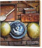 Kitchen Still Life Wood Print