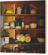 Kitchen Ware For Sale Wood Print