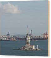 Kiz Kulesi - Leander Tower Istanbul Wood Print