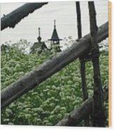Kizhi Chapel Wood Print