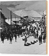 Klondike Street Scene Wood Print