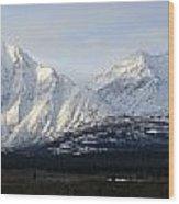 Kluane National Park, Yukon Wood Print