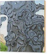 Knarly Tree Abstract Wood Print