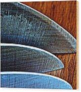 Knives Wood Print