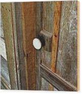 Knock At The Door Wood Print