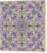 Knots Xiii Wood Print