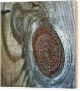 Knotty Wood Print