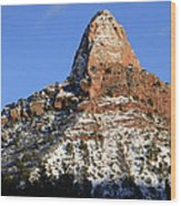 Kolob Canyon Utah Wood Print
