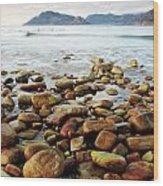 Kommetjie Beach Wood Print