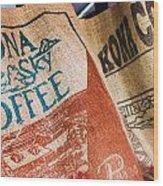 Kona Coffee Wood Print