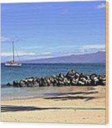 Kona Island Hawaii Wood Print