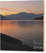 Kootenay Lake September Splendor Wood Print