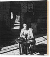 Korean Poetess Tells How She Escaped Wood Print