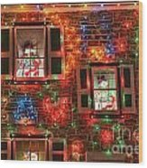 Koziar's Christmas Village Wood Print