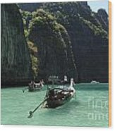 Krabi Island Thailand Wood Print