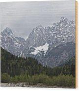 Kranjska Gora Wood Print