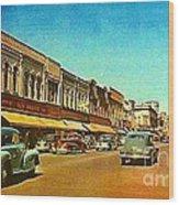 Kresge's Department Store In Oshkosh Wi In 1950 Wood Print