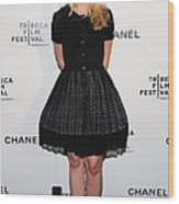 Kristen Bell At Arrivals For Chanel Wood Print