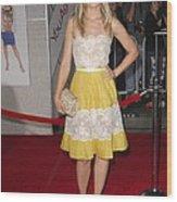 Kristen Bell Wearing A Valentino Dress Wood Print