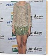 Kristen Bell Wearing An Alberta Wood Print