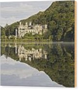 Kylemore Abbey, County Galway, Ireland Wood Print