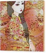 Kyoko Wood Print