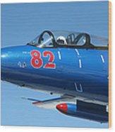L-29 Delfin Standard Jet Trainer Wood Print
