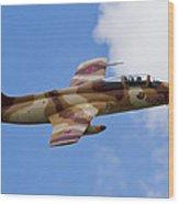 L-29 Delphin Wood Print