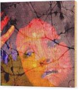 La Chanteuse  Wood Print