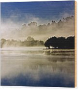 La Niebla Wood Print by Julio Beceiro