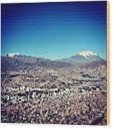 La Paz Wood Print