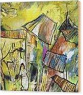 La Provence 27 Wood Print