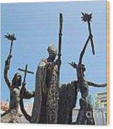 La Rogativa Statue Old San Juan Puerto Rico Wood Print
