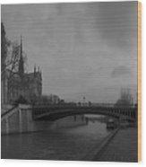 La Seine Dh 1 Wood Print
