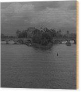 La Seine Dh 3 Wood Print