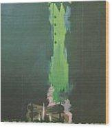 La Silence De La Mer Wood Print