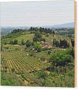 La Toscana Wood Print