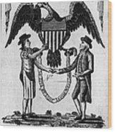 Labor Certificate, 1795 Wood Print