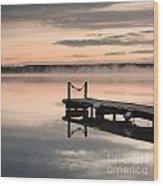 Lac De Leon Wood Print